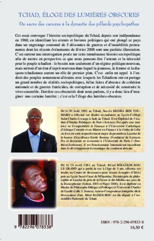 4eme Tchad, éloge des lumières obscures