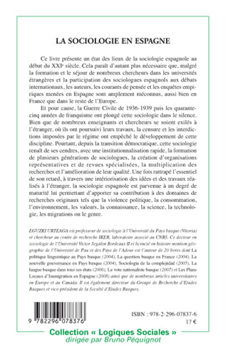 4eme La sociologie en Espagne