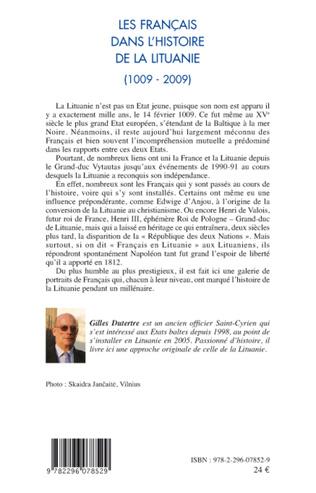 4eme Les Français dans l'histoire de la Lituanie