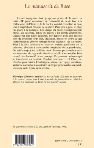 4eme Le manuscrit de Rose