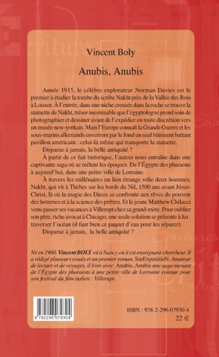 4eme Anubis, Anubis