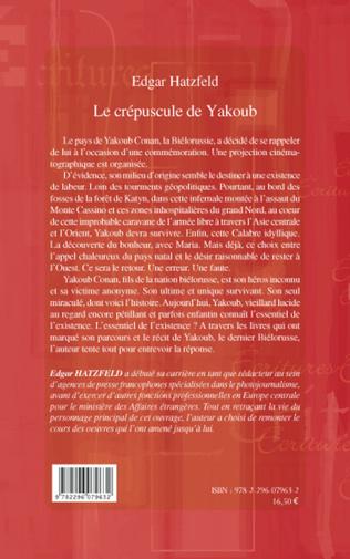 4eme Le crépuscule de Yakoub