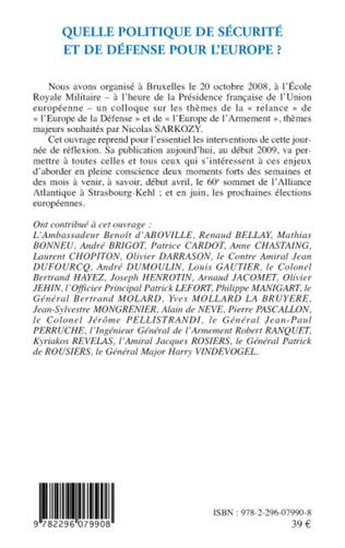 4eme L'adaptation des structures civi/o-militaires aux besoins de la PESD et l'avenir de groupements tactiques