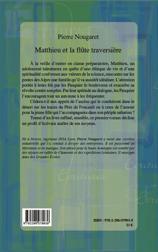 4eme Matthieu et la flûte traversière