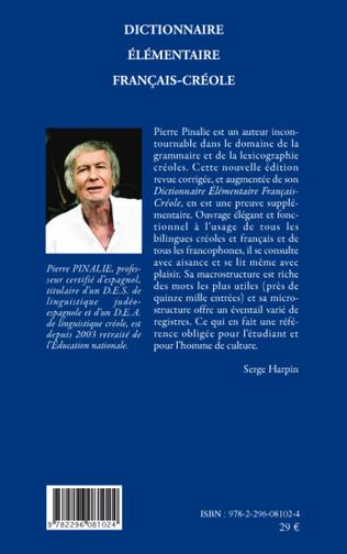 4eme Dictionnaire élémentaire français-créole