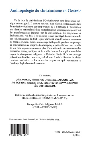 4eme Anthropologie du christianisme en Océanie