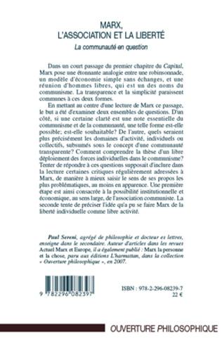 4eme Marx, l'Association et la Liberté