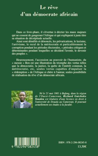 4eme Le rêve d'un démocrate africain