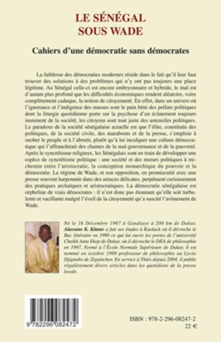 4eme Le Sénégal sous Wade