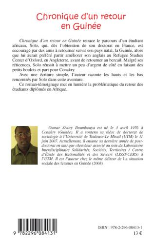 4eme Chronique d'un retour en Guinée