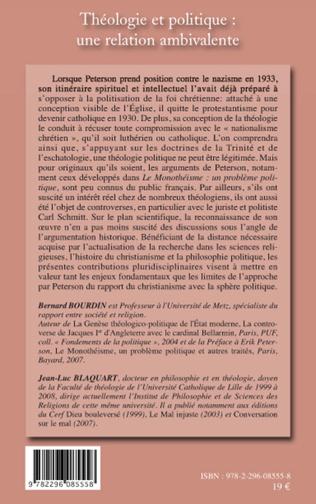 4eme Théologie et politique : une relation ambivalente