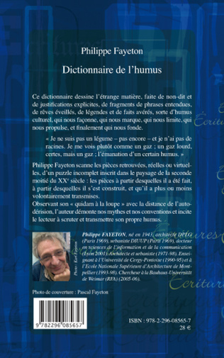 4eme Dictionnaire de l'humus