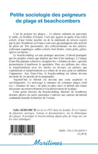 4eme Petite sociologie des peigneurs de plage et beachcombers