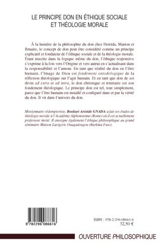4eme Le principe don en éthique sociale et théologie morale