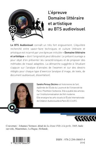 4eme L'épreuve domaine littéraire et artistique au BTS audiovisuel