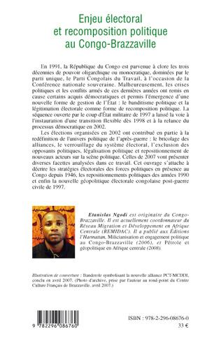 4eme Enjeu électoral et recomposition politique au Congo-Brazzaville
