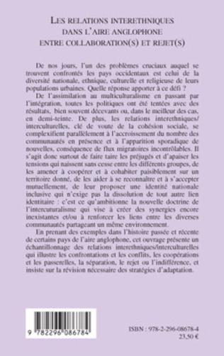 4eme Les relations interethniques dans l'aire anglophone entre collaboration(s) et rejet(s)