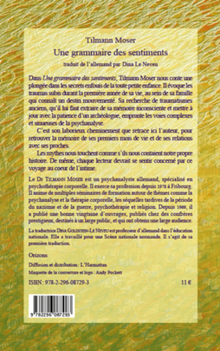 4eme GRAMMAIRE DES SENTIMENTS (UNE)