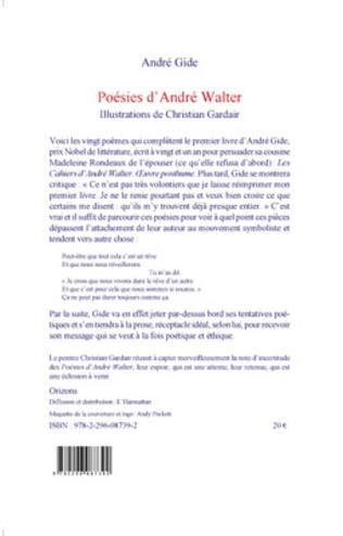 4eme POESIES D'ANDRE WALTER