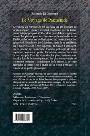 4eme Le voyage de Parménide