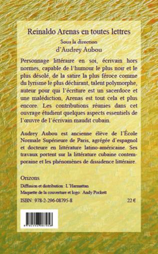 4eme Reinaldo Arenas en toutes lettres