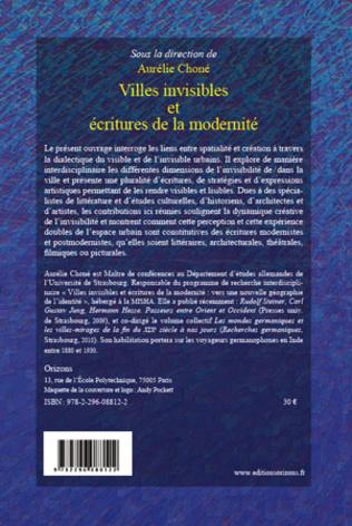 4eme Villes invisibles et écritures de la modernité