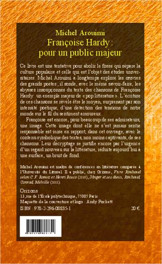 4eme Françoise Hardy : pour un public majeur