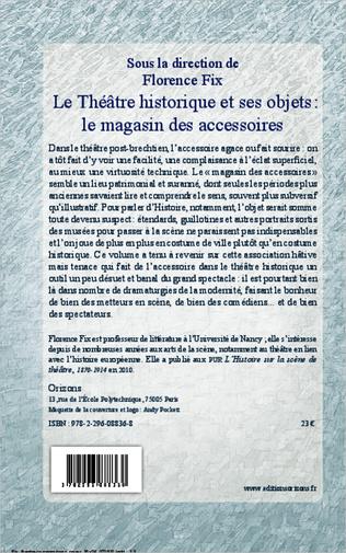 4eme Le Théâtre historique et ses objets