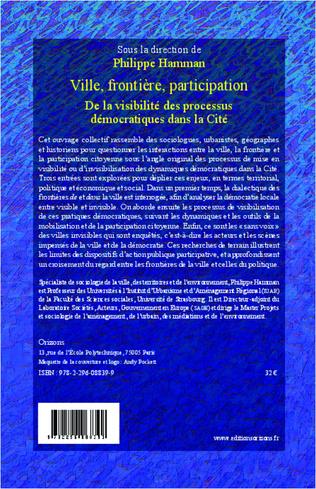 4eme Ville, frontière, participation