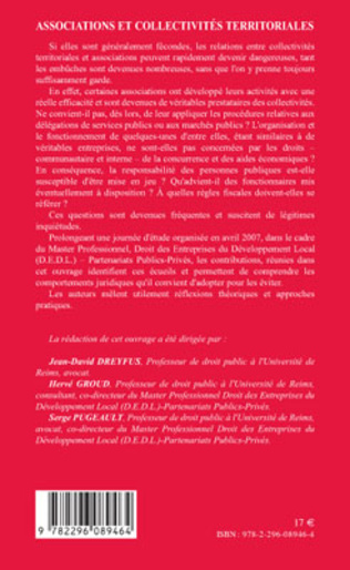 4eme Associations et collectivités territoriales