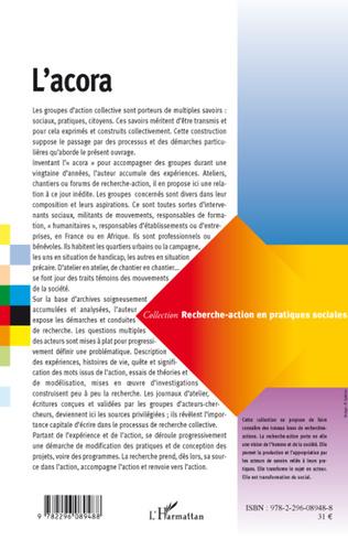 4eme L'acora, atelier coopératif de recherche action