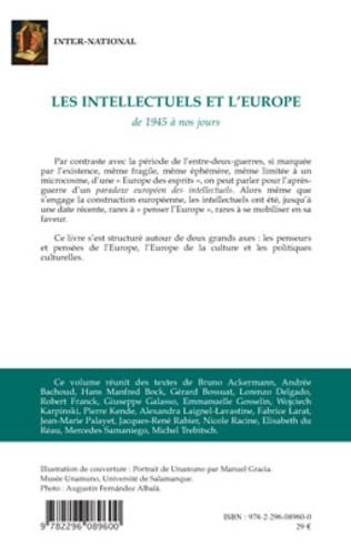 4eme Les intellectuels et l'Europe de 1945 à nos jours