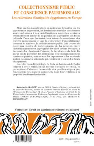 4eme Collectionnisme public et conscience patrimoniale