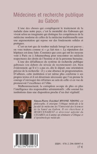 4eme Médecines et recherche publique au Gabon