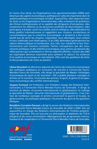 4eme Les organisations non gouvernementales ou l'homme au coeur d'une mondialisation solidaire