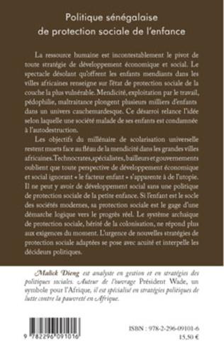 4eme Politique sénégalaise de protection sociale de l'enfance
