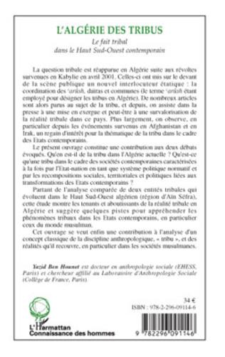 4eme L'Algérie des tribus