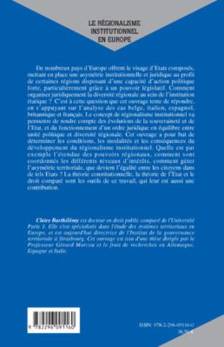 4eme Le régionalisme institutionnel en Europe