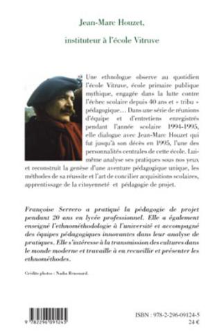 4eme Jean-Marc Houzet, instituteur à l'école Vitruve