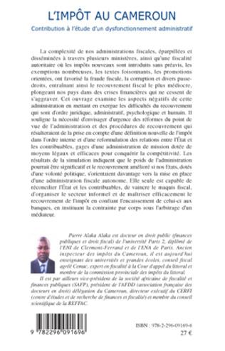 4eme L'impôt au Cameroun