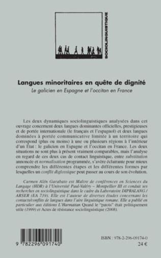 4eme Langues minoritaires en quête de dignité