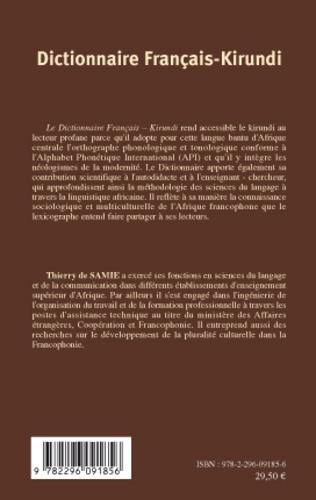 4eme Dictionnaire français-kirundi
