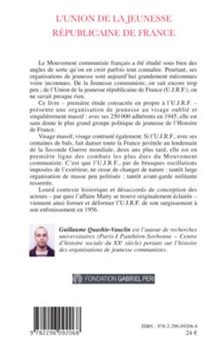4eme L'Union de la Jeunesse Républicaine de France (1945-1956)