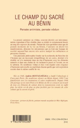 4eme Le champ du sacré au Bénin