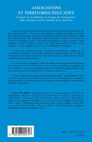 4eme Associations et territoires éducatifs
