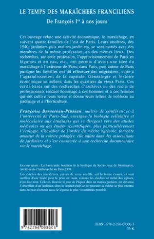 4eme Le temps des maraîchers franciliens