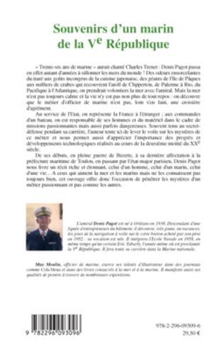 4eme Souvenirs d'un marin de la V° République