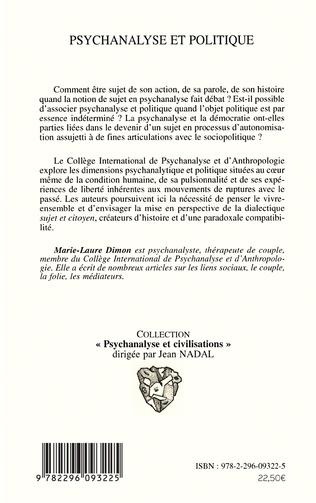 4eme Psychanalyse et politique