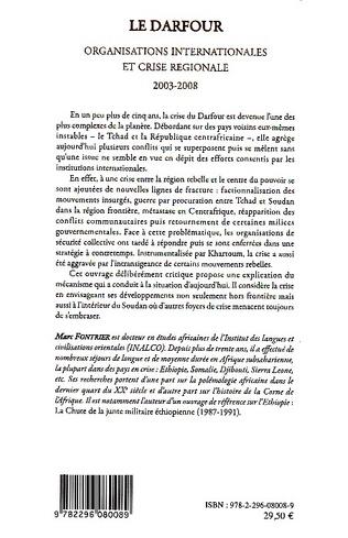 4eme Le Darfour