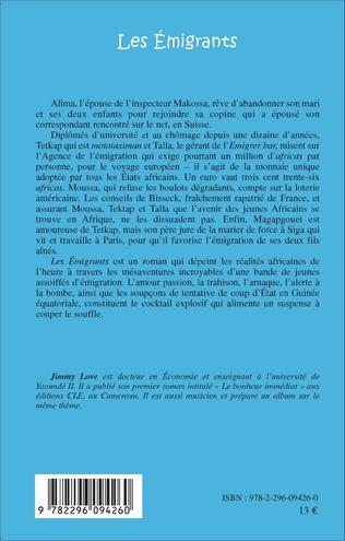 4eme Les Emigrants